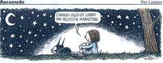 Solo mirar las estrellas !! #Liniers