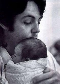 Today In Paul McCartney History August 29, 1969 Parents Paul and Linda McCartney holding their first child together, Mary, who was born only hours the day before on August 28. Happy Birthday, Mary...