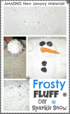 Frosty Fluff Snow Play ~ Growing A Jeweled Rose