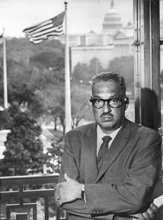 1967 – Thurgood Marshall is confirmed as the first African American Justice of the Supreme Court of the United States. | thurgood marshall supreme court justice marshall became the first ...