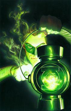 The Green Lantern by Alex Ross