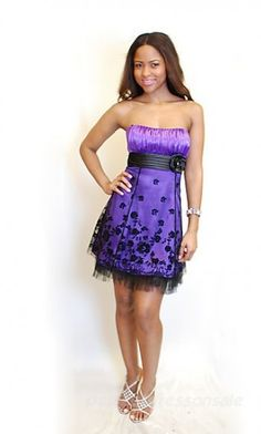 Love this dress, and the color rocks.  By Alyssa timmons