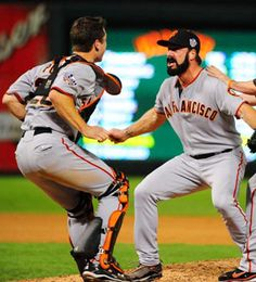 Brian Wilson, Buster Posey and the rest of the San Francisco Giants.