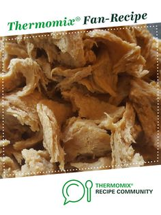 Recipe Shredded chicken style seitan (vegan meat) by obiii, learn to make this recipe easily in your kitchen machine and discover other Thermomix recipes in Main dishes - vegetarian. Vegan Food, Vegan Vegetarian, Vegetarian Recipes, Seitan Chicken, Vegan Main Dishes, Recipe Community, Vegan Cheese, Shredded Chicken, Cheap Meals