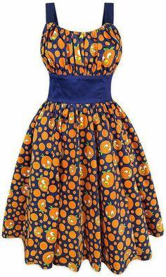 Disney Releases 2 New Dresses: Orange Bird Dress and Magic Kingdom Dress African Fashion Ankara, Latest African Fashion Dresses, African Print Fashion, Africa Fashion, Short African Dresses, African Print Dresses, African Attire, African Wear, Moda Afro