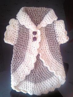 Free Crochet Pattern:  Ravelry: SandraMartins' o jacket