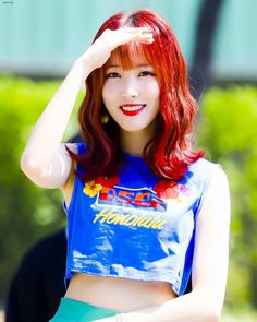 Kpop Girl Groups, Kpop Girls, Gfriend Yuju, G Friend, Cosplay Girls, South Korean Girls, How To Lose Weight Fast, Crop Tops, How To Plan