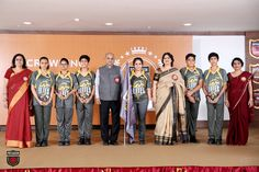 The Investiture Ceremony, 2016, witnessed the young Presidians being honoured with prestigious positions in the school's Student Council by the Hon'ble Chairperson, Mrs. Sudha Gupta and the Presidium family. She congratulated the students, teachers and the parents on the joyous occasion and extended warm wishes to the students for a bright year ahead.