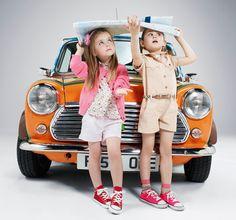 Adorable retro ads featuring kids' fashion!