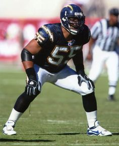 c2a2fb2b2ad Junior Seau played 13 of his 20 seasons with the San Diego Chargers.