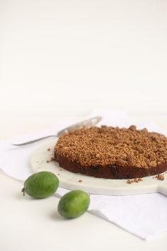 Feijoa Crumble Cake - Be Good Organics