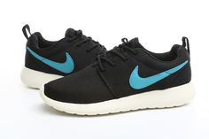 #esty #runs #free #flux Nike Roshe Run 3D Elite Mens Black Granite White Chlorine Blue 511881 507