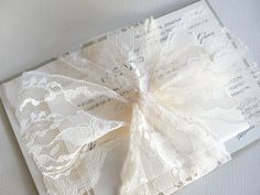 Lace Tied Wedding