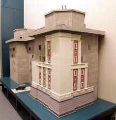 Dieses Modell zeigt den Flakturm Humboldthain. Ein Koloss, der auch als Bunker diente.