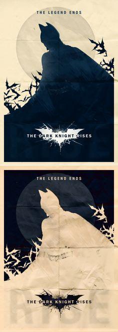 Dark Knight Rises - Minimalist Poster - Posters - Creattica