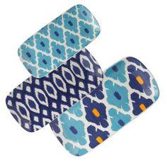 Ikat Nesting Trays - Set of 3 (from Waiting on Martha - REALLY cute stuff!)