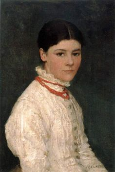 Sir George Clausen RA, Portrait of Agnes Mary Webster, 1882 English Artists, Art Uk, Old Master, Coming Home, Art World, Fine Art, Mary, Women, Portrait Paintings
