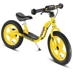 Rowerek biegowy Puky LR 1L Br z hamulcem - żółty