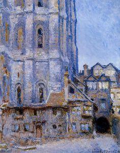 Claude Monet, The Cour d'Albane, 1892