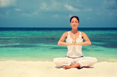 Cualquier sitio es bueno para meditar.
