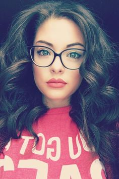 1c5914f9cf 20 Cute Girls Wearing Glasses Ideas To Try
