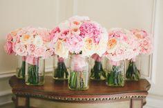 Beautiful pink arrangements