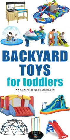 Best Outdoor Toys, Outdoor Activities For Toddlers, Outdoor Toys For Kids, Summer Activities, Toddler Preschool, Toddler Toys, Kids Toys, Backyard Toys, Toys For 1 Year Old