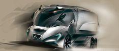 CAR Design work on Behance