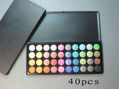 Mac Eyeshadow 40 Colors This is my dream palette Love Makeup, Makeup Tips, Beauty Makeup, Hair Beauty, Makeup Products, Stila Cosmetics, Becca Cosmetics, Flirt Cosmetics, Bourjois Makeup
