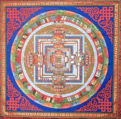 Kalachakra Mandala by 10zinarts82 on Etsy