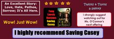 Saving Casey Review by Tony