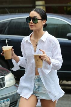 Vanessa Hudgens out and about in NYC (June 28)