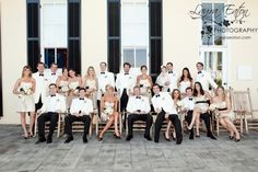 bridal party at Congress Hall wedding in Cape May, NJ