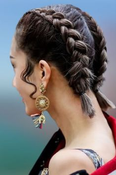 Double Braids Short Hair for women 2021-2022 Different Hairstyles, Short Hairstyles For Women, Cute Hairstyles, Braided Hairstyles, Braids For Short Hair, Short Hair Styles, Double Braid, Rapunzel, Updos