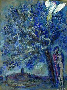 ADAN Y EVA #Marc-Chagall #Marcchagall #MarcChagall