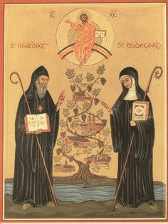 Sts. Benedict and Hildegard