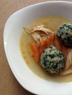 Whole Wheat Spinach Matzo Balls