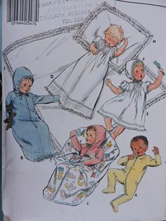 Cool Patterns, Vintage Sewing Patterns, Stitch Patterns, Blessing Dress, Baby Layette, Costume Patterns, Jumpsuit Dress, Pillow Shams, Christening