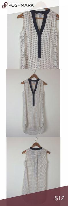 H&M Cream & Black Tunic Dress Cream and Black Tunic / Mumu Dress by H&M. Great Condition. H&M Dresses Mini