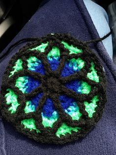 Ravelry: vrwl's Stained Glass Window Afghan