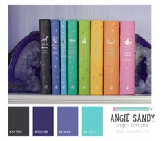 Charcoal, Purple and Teal Color Palette | Angie Sandy #colorcrush
