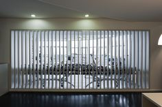 The bar creates a micro cosmos to enjoy a break and was built inside a preexisting gymnasium in Oporto. Portugal. © armenio teixeira