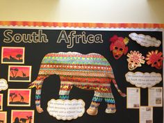 South Africa display
