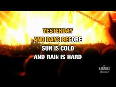 """Have You Ever Seen The Rain?  """"Creedence Clearwater Revival"""" karaoke. Original > http://www.youtube.com/watch?v=lP1zza-flqA=related"""
