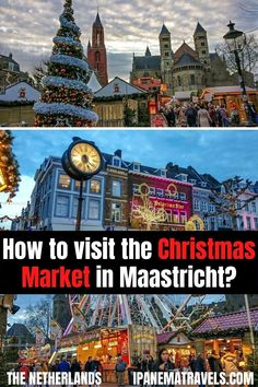Visit the most magical Christmas Market in the Netherlands - the Christmas Market in Maastricht. Read here tips and inside information about the Maastricht Christmas market and the Christmas attractions in Maastricht and which foods and drinks to try.
