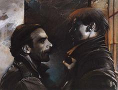 Illustration du film Strictement Personnel de Pierre Jolivet (1985) by Enki Bilal