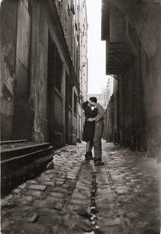 Les Amourex / The Lovers, Paris, 1950's, Jean-Philippe Charbonnier. French (1921 - 2004)