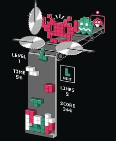 Where Tetris blocks really come from.