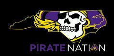 .ECU - East Carolina Pirates!