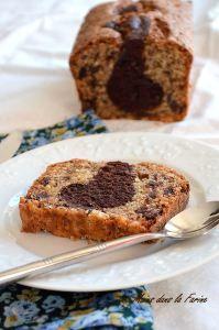 Cake marbré noisettine et chocolat, de Philippe Conticini